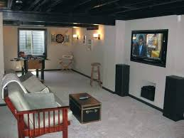 painted basement ceiling ideas. Black Basement Ceiling Ideas Paint Image Of Cute Unfinished Flat Painted