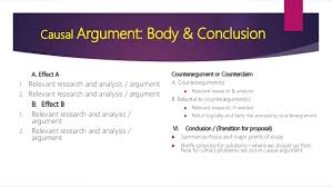 causal analysis essay causal argument