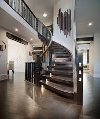 decorating stairs in beautiful and creative ways for interior design ideas hardwood flooring with curved