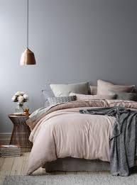 Wandfarben Grau Rosa Mit Wandgestaltung Schlafzimmer Ideen 40 Coole