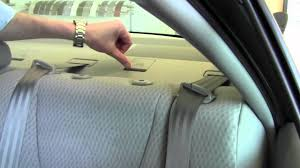 2011 | Toyota | Camry | Car Seat Latch Anchor System | How To by ...