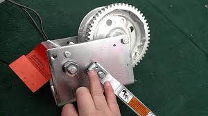 harbor freight hand winch. ez boat loading winch system www.winchdrivertools.com - youtube harbor freight hand
