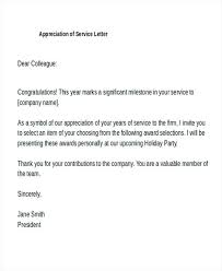 sample of appreciation letter sample recognition letter employee appreciation samples delightful