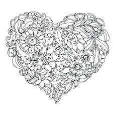 heart coloring pages printable free printable heart coloring pages heart coloring pages printable coloring page of