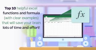 excel functions top 10 helpful excel functions and formula that will save your brain