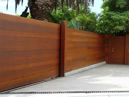 Horizontal Fence Styles Outdoor Decorations