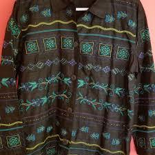 Chicos Design Embroidered Jacket Medium