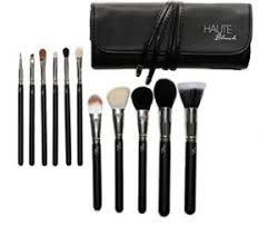makeup brushes 11 piece black makeup brush set leather casing best makeup brush professional brushes parable to mac brushes best