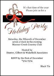 Company Holiday Party Invitation Wording Company Party Invitations Orgullolgbt