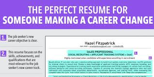 Resume Objective Section Sample Ideal Resume For Someone Making A Career Change - Business Insider