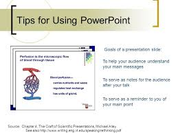 Tips For Using Powerpoint Source Chapter 4 The Craft Of Scientific