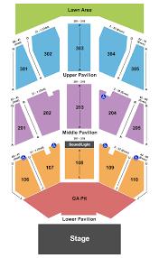 Mecu Pavilion Seating Chart Baltimore