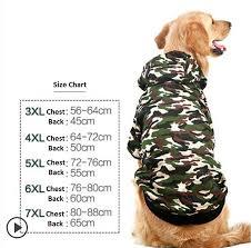 Us 8 81 37 Off New Winter Large Dog Coat Big Dog Clothes Pet Jacket Camo Warm Costume Golden Retriever Labrador Husky Big Dogs 3xl 7xl In Dog Coats