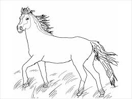 Free coloring pages to print or color online. 9 Horse Coloring Pages Free Pdf Document Download Free Premium Templates