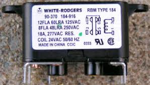 90 370 white rodgers fan relay arnold White Rodgers Relay Wiring Diagram White Rodgers 1F80-361 Wiring