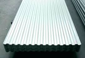 corrugated plastic roofing clear