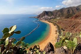 las teresitas beach on the island of tenerife