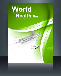 Medical Brochures Templates Enchanting World Health Day Brochure Concept With Medical Symbol Template R