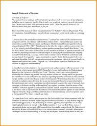Best Of 7 Graduate School Statement Purpose Format Fresh Solutions