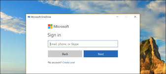 annoying microsoft onedrive sign in popup