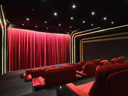Cool Home Theater Step Lighting Home Design New Best On Home - Home theatre interiors