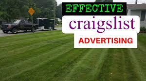 Lawn Mowing Ads Effective Craigslist Ads For Lawn Mowing And Snow Plowing
