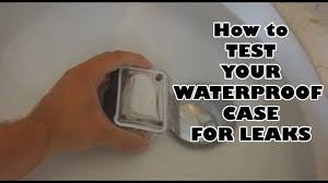 How to test your <b>action camera Waterproof case</b> for leaks? (GoPro or ...