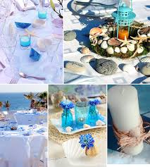 Wonderful Beach Themed Wedding Centerpieces