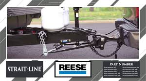 reese strait line dual cam high performance weight distribution and sway control mercial