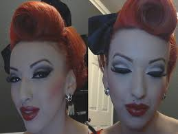 part 1 modern vine pinup makeup tutorial you modern pin up hairstyles