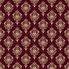 seamless red carpet texture. Vector Damask Seamless Pattern Background. Classical Luxury Old Fashioned Ornament, Royal Victorian Red Carpet Texture M