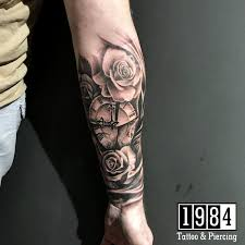 Tattoo Uploaded By 1984 Tattoo Studio From Ancient Times Rose