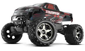 Traxxas Stampede 4x4 Vxl 1 10 Rtr Tqi Tsm Without Batt Charger