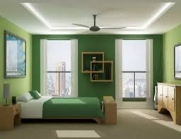 home office lamps. casual ceiling fan near small lamps for tiny bedroom ideas with home office green wall accent colour plus creative bookshelf and excerpt simple s