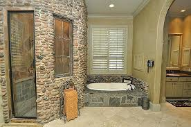 country master bathroom designs. Rustic Master Bathroom With Inset Cabinets Crown Molding Fixer Upper Southwestern . Bathrooms Walk Country Designs