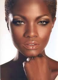 makeup dark skin tone model brianna mice i love this make up