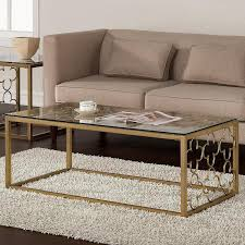 product name golden glass coffee table
