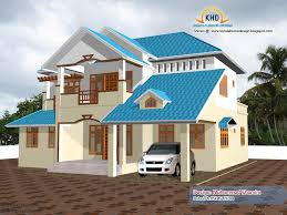 Beautiful Home Elevation Design In D Kerala Home Design And - House designs interior and exterior