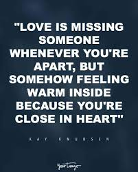 40 Quotes For When You're REALLY Missing Someone You Love YourTango Fascinating Missing Your Love Quotes