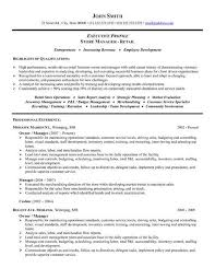 Store Owner Resume