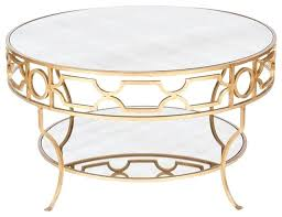 gold round coffee table coffee table worlds away two tier round gold leaf coffee table gold