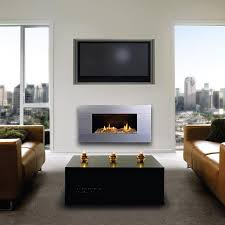 escea st900 indoor natural gas fireplace stainless steel with with ceramic driftwood and white stones gas log guys