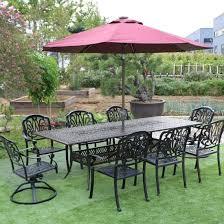 china cast aluminum outdoor patio