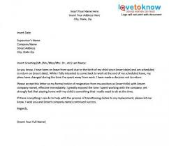 Free Going Back To Work After Maternity Leave Letter Template Free