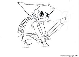 Small Picture ZELDA Coloring Pages Free Printable