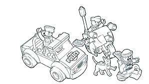 Lego Forest Police Coloring Pages City Forest Police Coloring Pages