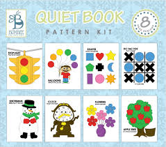 Quiet Book Patterns Mesmerizing Bumbee Books Quiet Book Patterns