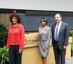 Former San Antonio Mayor Ivy Taylor discusses diversity in the health  professions during campus presentation | UT Health San Antonio