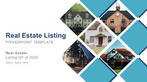 Powerpoint Real Estate Templates Real Estate Listing Powerpoint Template