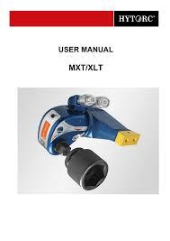 Hytorc Mxt Xlt Manual Manualzz Com